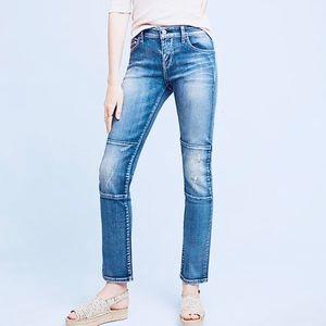Pilcro & the Letterpress Parallel Jeans Size 28